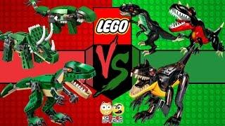 Lego Jurassic World - Dinossauros Radioativos VS Dinossauros Bizarros (Batalha de Dinos)