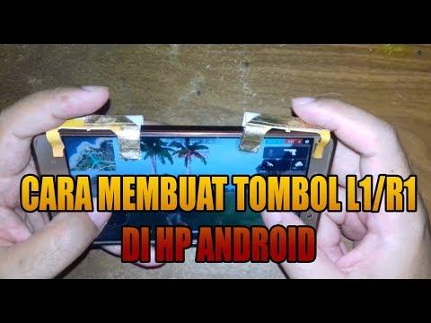 TUTORIAL MEMBUAT TOMBOL R1/L1 DI HP ANDROID