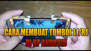 TUTORIAL MEMBUAT TOMBOL R1/L1 DI HP ANDROID