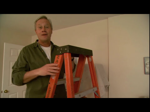 How to Cover Over a Water Stain on a Ceiling - YouTube