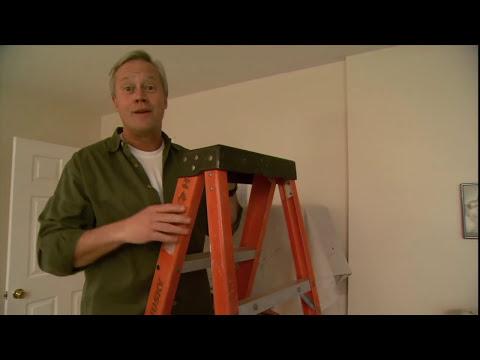 how to clean water stain off caravan ceiling