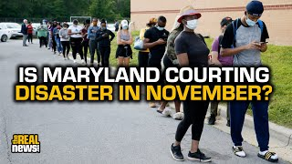 Outrage At Maryland's Plan For In-Person Voting Despite Pandemic