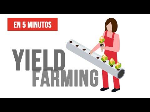 🔴 ¿Qué es YIELD FARMING? - YIELD FARMING EXPLICADO en 5 minutos 🌱💰