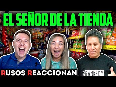 🇷🇺RUSOS REACCIONAN A PRANKEDY - El SEÑOR De La TIENDA 🇲🇽  Reacción A PURO HUMOR MEXICANO 2020