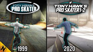 Tony Hawk's Pro Skater 1+2 vs Original | Direct Comparison
