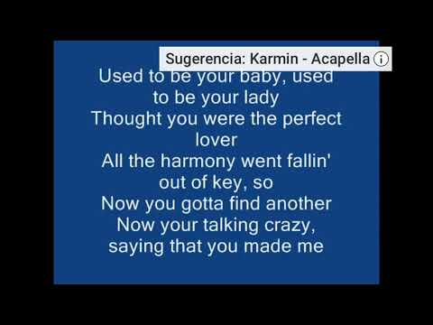 Karmin-Acapella (Onscreen Lyrics)