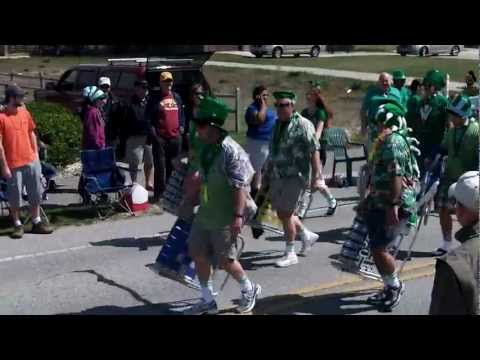 23rd annual St. Patrick's Day Parade in Nags Head March 18, 2012