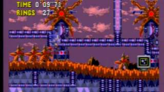 Sonic CD - Palmtree Panic Zone 3 (all time zones with JP sndtrk)