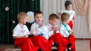 """Украинский танец детей """"Гопак"""" на утреннике 8 марта в детском саду"""