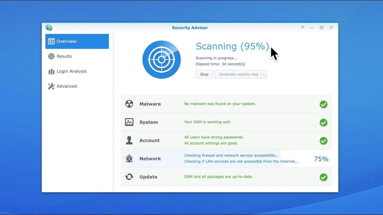 Synology NAS Quick Tip - A Review of Security Advisor