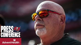 Bruce Arians: Fournette Will Start, Rojo Game Time Decision | Press Conference