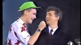 Pet Shop Boys - Domino Dancing/I'm Not Scared (Live 1, 2, 3, Jovanotti 1988)