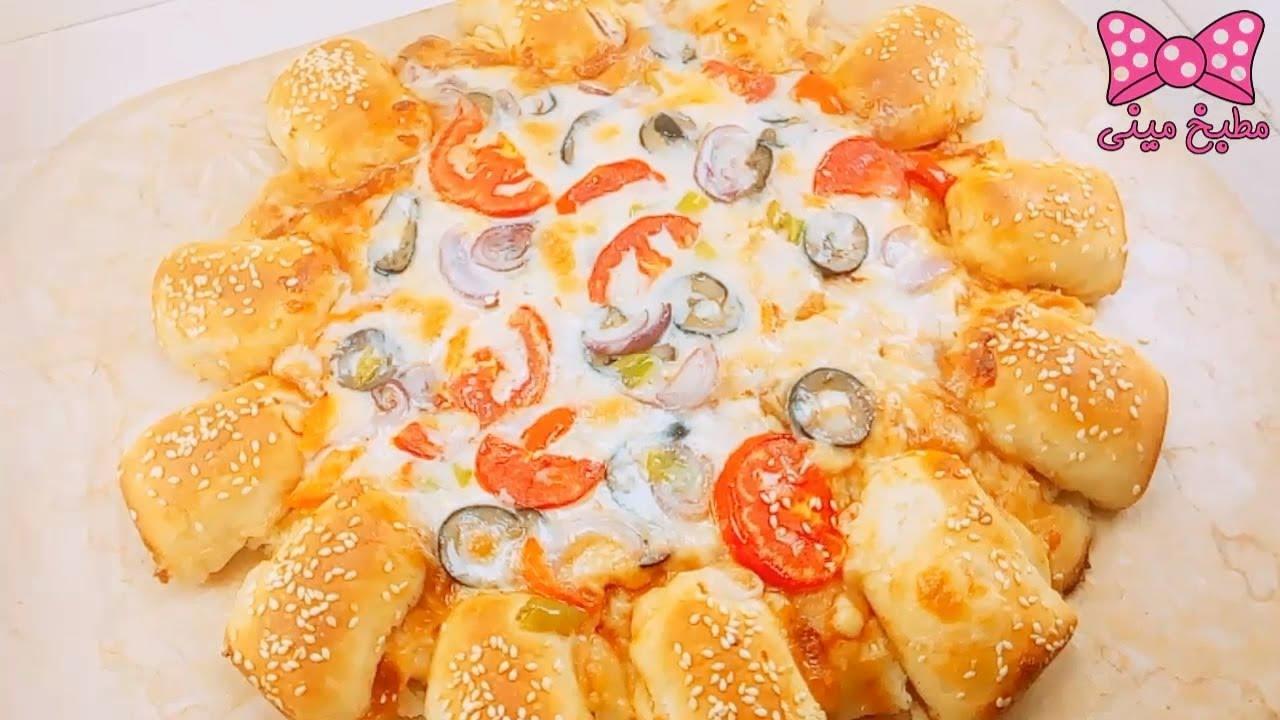 بيتزا بايتس بطريقة بيتزا هت والطعم خيال البيتزا بكل أسرارها وتفاصيلها مطبخ ميني Youtube