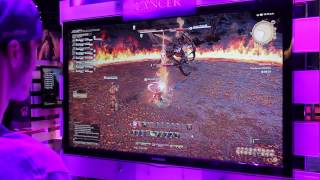 Final Fantasy XIV Offscreen Gameplay | E3 2013