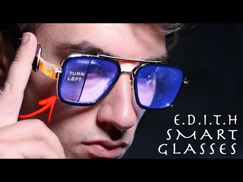 DIY Working E.D.I.T.H SMART GLASSES! - Spider-Man Far From Home (Building Your Ideas #3)