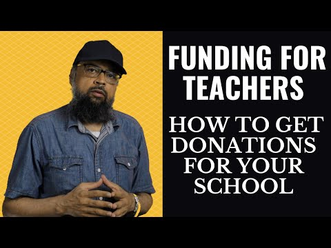 5 Websites where Teachers can get Funding