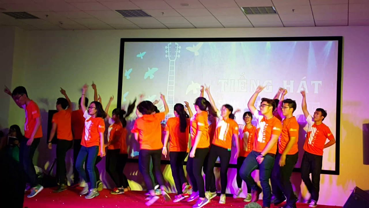 Flashmob ngành Marketing ( MK151 ) – ĐH Hoa Sen