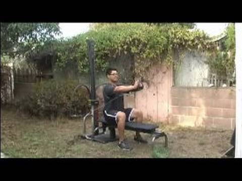 How to Do Bowflex Exercises : Chest Press Exercises Using Bowflex System