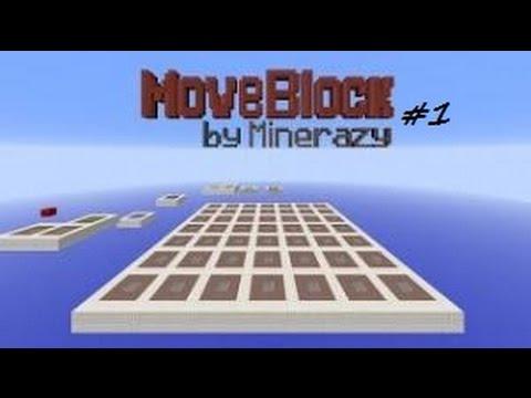 [Game Map] Minecraft Move Block #1: Buron tập đẩy block