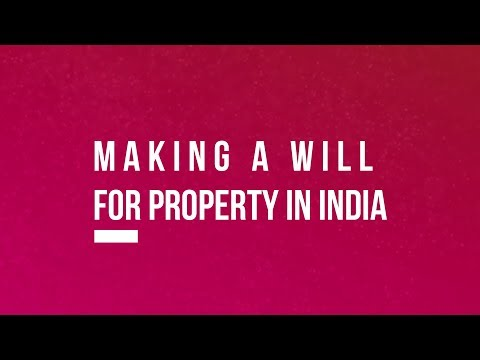 making a will in india