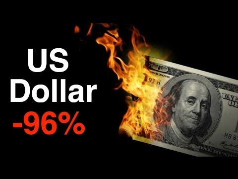 Has The US Dollar Lost 96% Value?  Gold, Bitcoin, Crypto