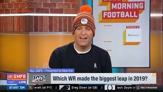 ALL CAPS #GMFB: Coach of the Year Right Now; QB Needing Win Most; WR Who's Made Biggest Leap