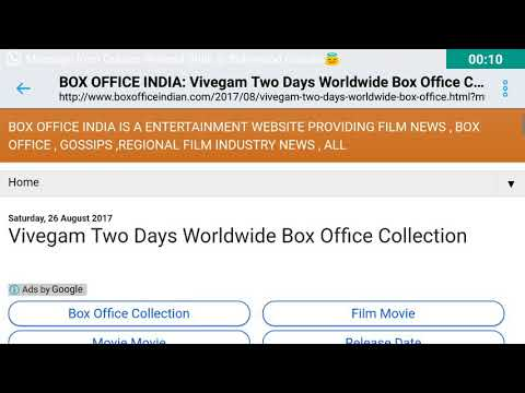 Vivegam Worldwide Box Office Collection Day 2