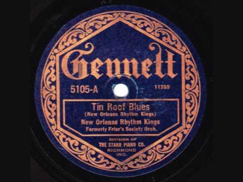 New Orleans Rhythm Kings - Tin Roof Blues (take 2) - 1923