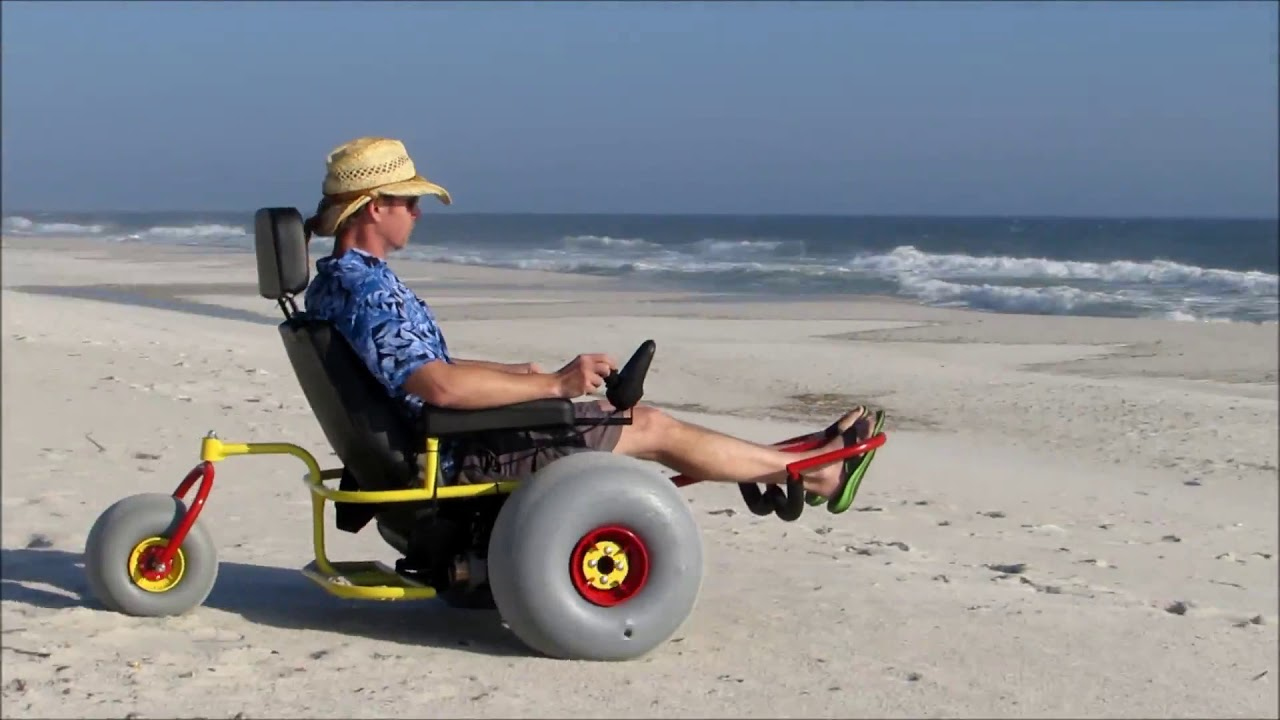 Terrain Electric Beach Wheelchair