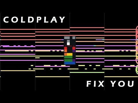 [MIDI Cover] Coldplay - Fix You (instrumental)
