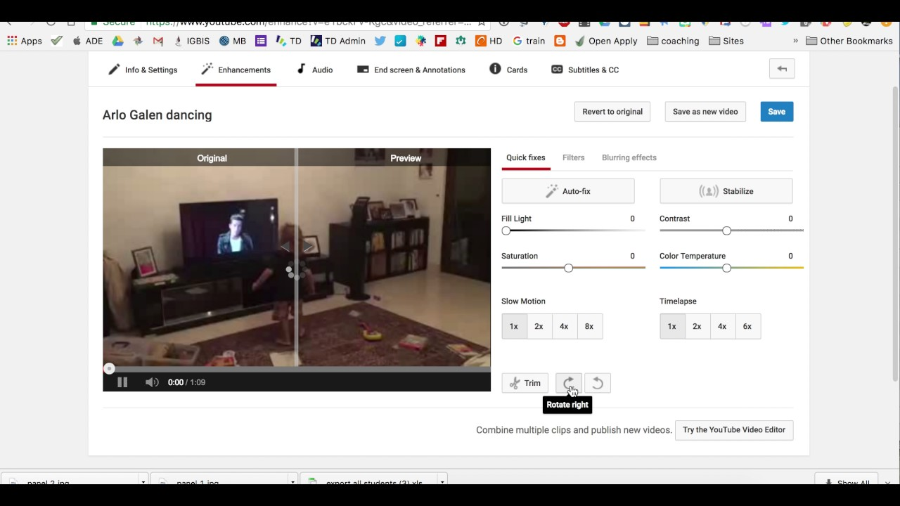 How to rotate a video on youtube youtube how to rotate a video on youtube ccuart Image collections