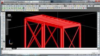 Урок 7_02 Расчет металлоконструкций в Кристалл. Расчет в SCAD
