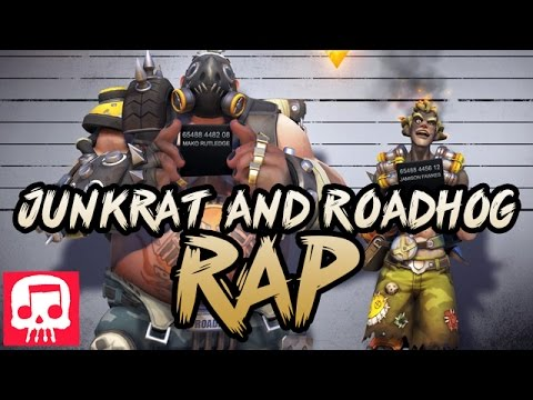 Thumbnail: THE JUNKRAT AND ROADHOG RAP by JT Machinima (Overwatch Song)