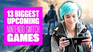 13 Biggest Upcoming Nintendo Switch Games - Nintendo Switch Games