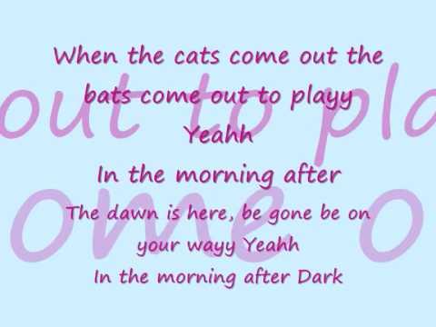 Morning after dark lyrics