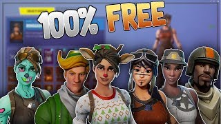 How to get ANY RARE Fortnite Skins for FREE! (Fortnite Skin Changer)
