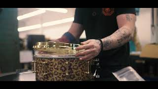 Crafting a new kit for Tré Cool - 2019 - SJC Custom Drums