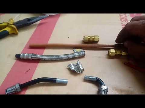 Reparar tubería frenos