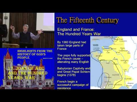17. Joan of Arc and the Hundred Years War