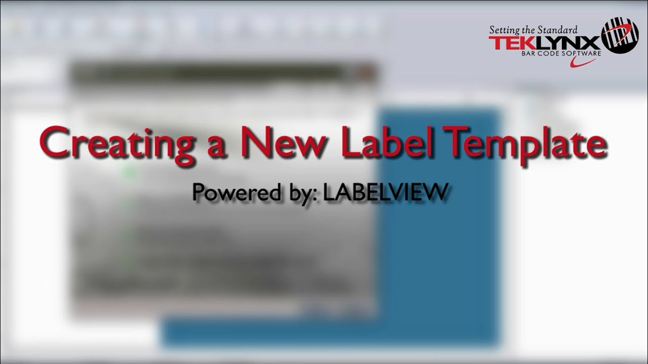 how to create a label