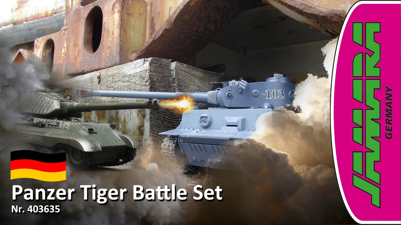 Jamara   RC Panzer Tiger Battle Set   DE