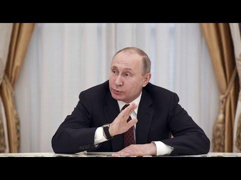 Putin will keinen Rüstungswettlauf