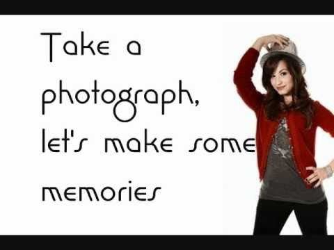 Sonny With A Chance- Demi Lovato- Work Of Art (Lyrics On Screen & Download)