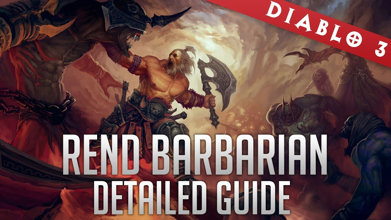 Barbarian Rend Build with Immortal King and Wrath of the Wastes