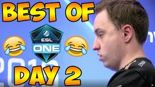 BEST OF ESL ONE COLOGNE ~ FUNNY MOMENTS & FRAG HIGHLIGHTS ~ DAY 2 !!