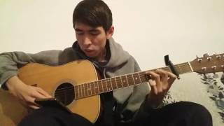 jah khalib-созвездие ангела (кавер, на гитаре)