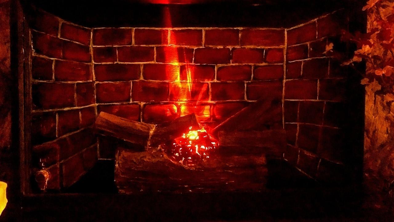 DIY electric firelog using bulb n cardboard easy faux fireplace