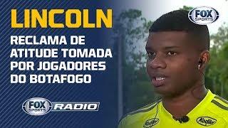 """""""ISSO NÃO É FUTEBOL"""": Lincoln reclama de atitude tomada por jogadores do Botafogo"""