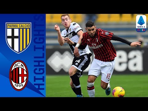 Parma 0-1 Milan | Late Theo Hernandez Goal Wins It For Milan! | Serie A