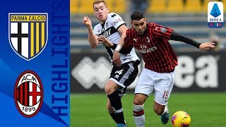 Parma 0 1 Milan Late Theo Hernandez Goal Wins It For Milan Serie A
